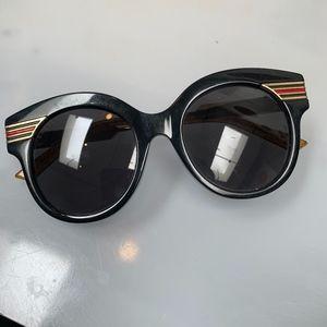 Gucci Oversize Cat Eye Acetate Sunglasses